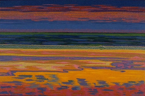 Rainbow Beach - Oil Artwork
