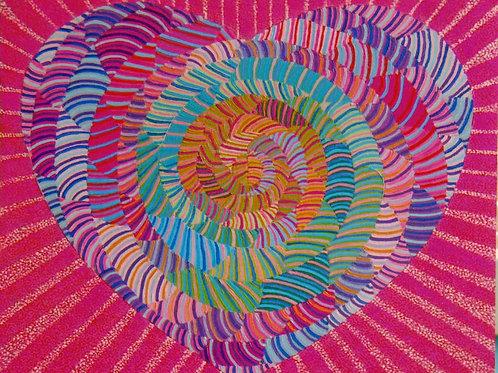 Tuberose Heart - Oil Artwork