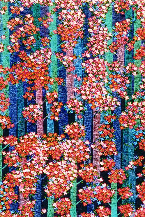 Wedding Blossums - Oil Artwork