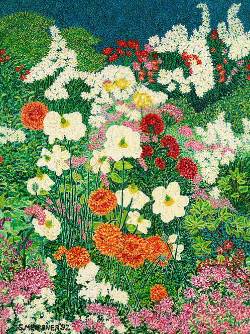 Spring Harmony - Reproduction Giclee Art Print On Canvas