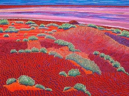 Scorched Desert - Oil Artwork