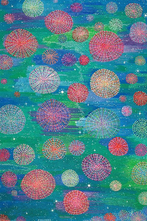 Celestial Stardust - Oil Artwork