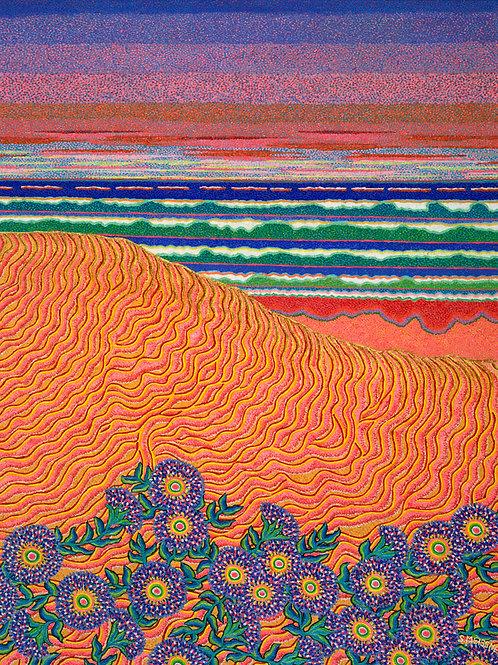 Golden Sands - Oil and Violet Shimmer