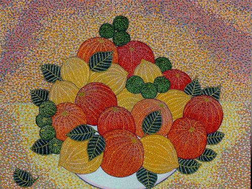 Citrus Blue - Oil Artwork