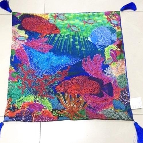 Cushion Sea Garden of Eden - No Crystals