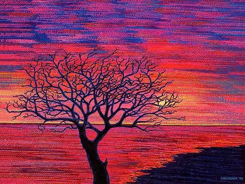 Art Block - Sunset Passion (Acrylic)