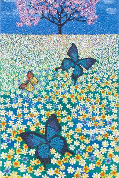 Butterfly Dreams - Oil, Acrylic and Shimmer Artwork