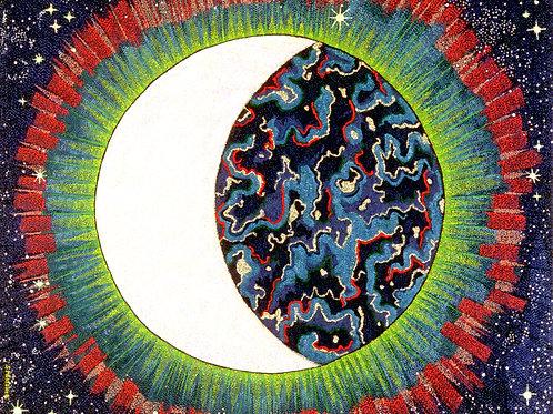 Blue Moon - Oil and Shimmer Artwork