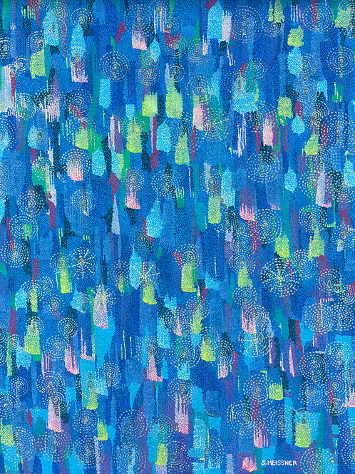 Spirit Essence - Reproduction Giclee Art Print On Canvas