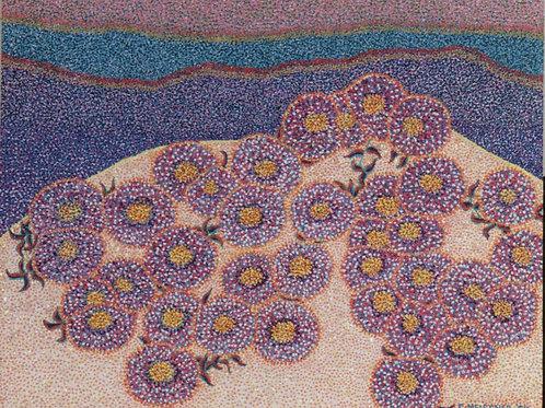 Sandune Flowers - Oil and Shimmer Artwork