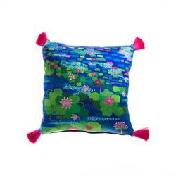 Water Roses Cushion 51cmx51cm