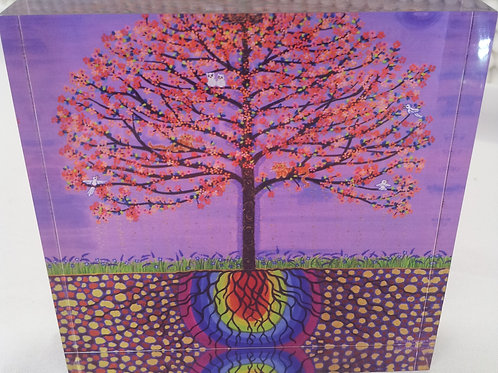Art Block - The Buddha Bodhi Tree (Acrylic)