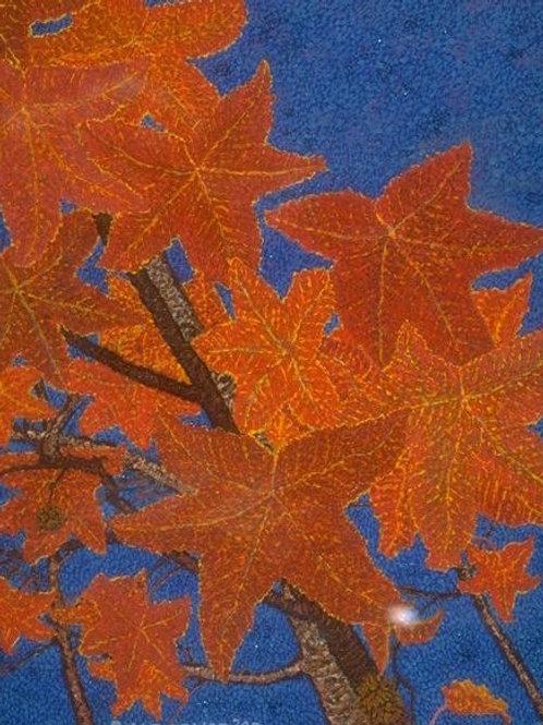 Autumn Leaves - Oil and Shimmer Artwork