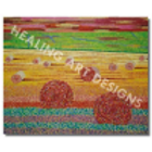 Hay Bales - Reproduction Giclee Art Print On Canvas
