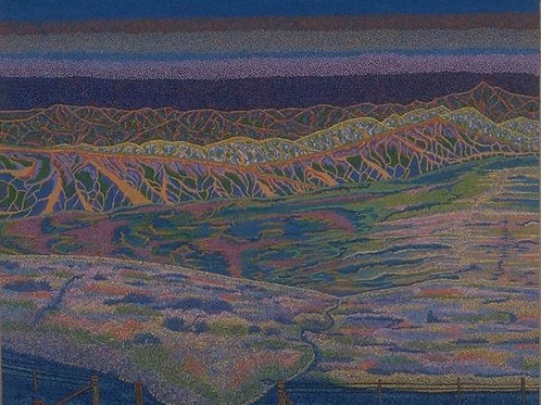 Klaidescope Landscape - Oil Artwork
