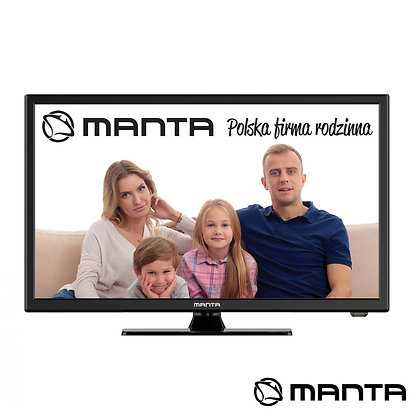 "TV LED 22"" FHD HDMI USB COLUNAS 2X3W 220V/12V MANTA"