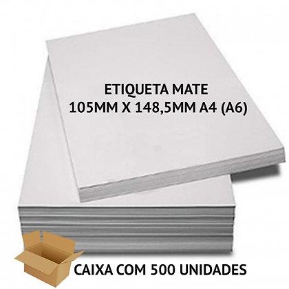 ETIQUETA MATE 105MM X 148,5MM 4-(A6)