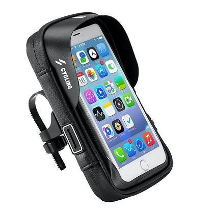 SUPORTE P/SMARTPHONE BICICLETA/MOTO-CX1