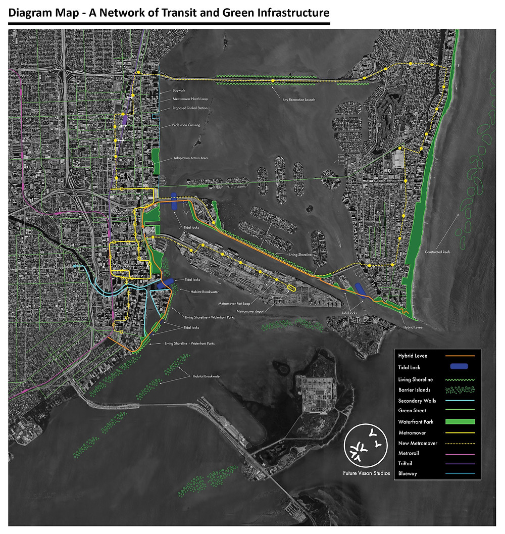 Sea Level Rise Climate Change Mitigation Adaptation Resiliency Mobility Design Transportation Green Infrastructure