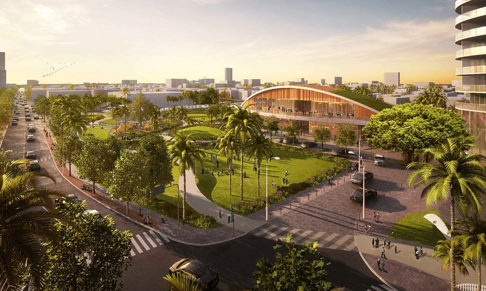 Miami Beach Resiliency Design Urban Planning Climate Change