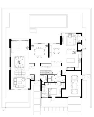 Golden Shores Residence Ground Floor Plan