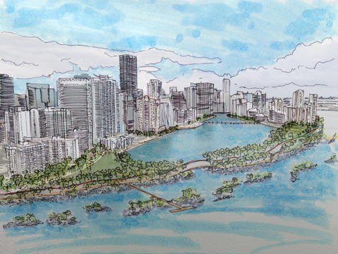 We cannot predict what Miami will look like on its 175th birthday, but we can propose it