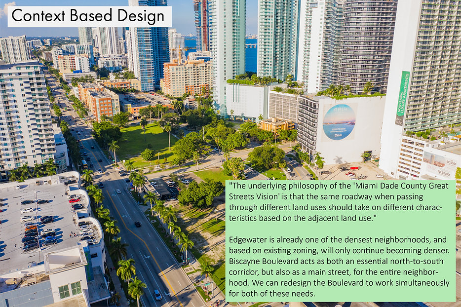 Reimagine Biscayne Boulevard-Future Vision Studios-NE 18th Street-Dangerous by Design-Context Based-Edgewater Miami Urban Design Planning-Mobility