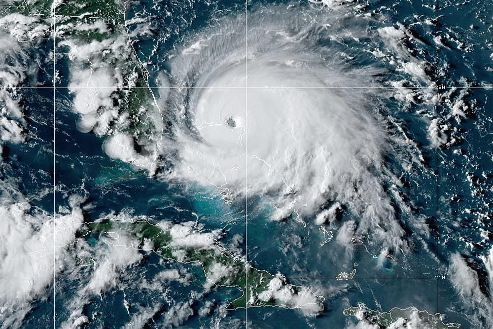 Hurricane Dorian Source NOAA