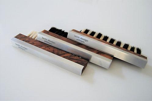 vinylbrush - Schallplattenbürste Exclusive - Tuja / Wurzelholz