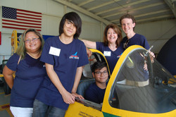 Volunteering with the Commemorative Air Force