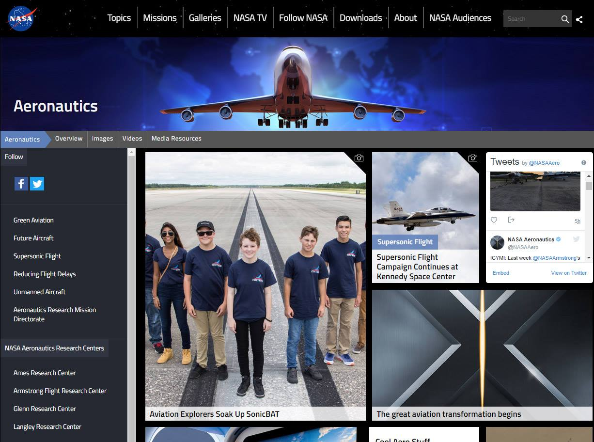 Featured on NASA's website!