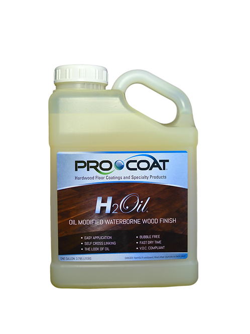 H2Oil® - Oil Modified Waterborne Finish