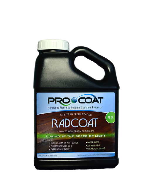Radcoat® RX - UV Curable Antimicrobial Waterborne Finish