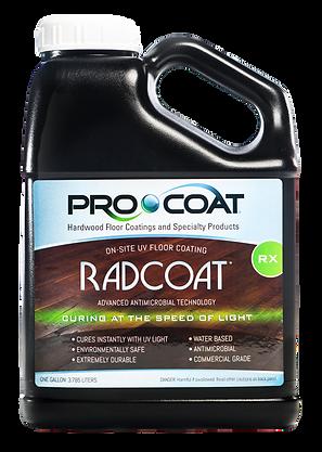 ProCoat Radcoat Rx UV Cured Wood Finish