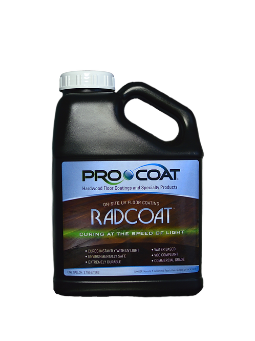 Radcoat® - UV Curable Waterborne Finish