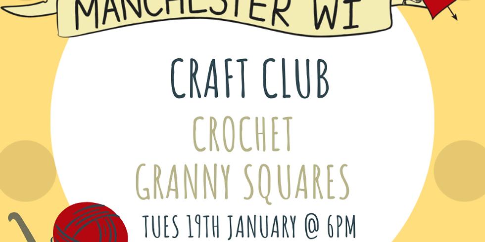 Craft Club: Crochet Granny Squares