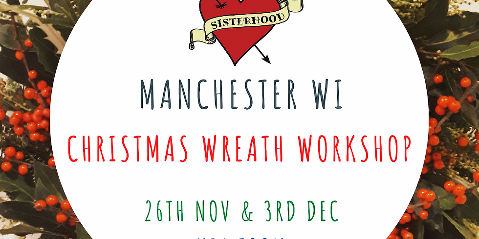 Christmas Wreath Workshop - 26th November