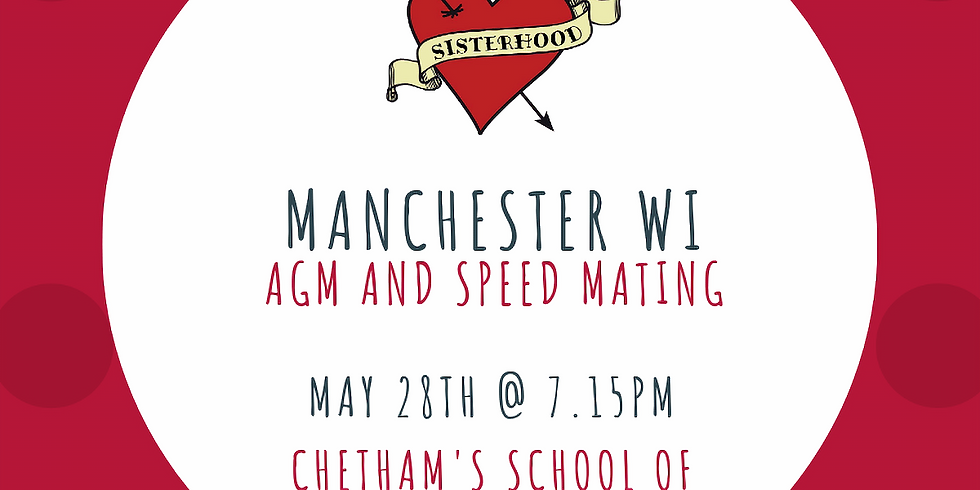 May Meeting: AGM & Speed Mating