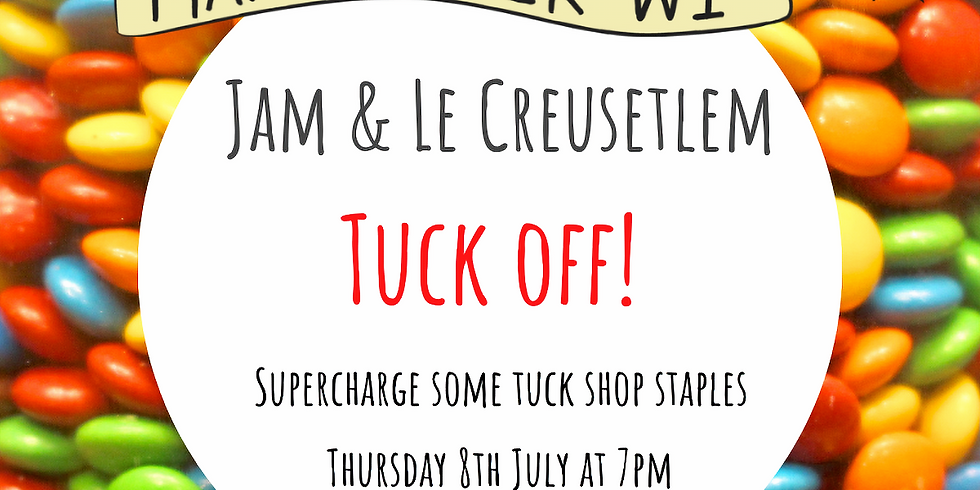 Jam and Le Creusetlem: Tuck off!