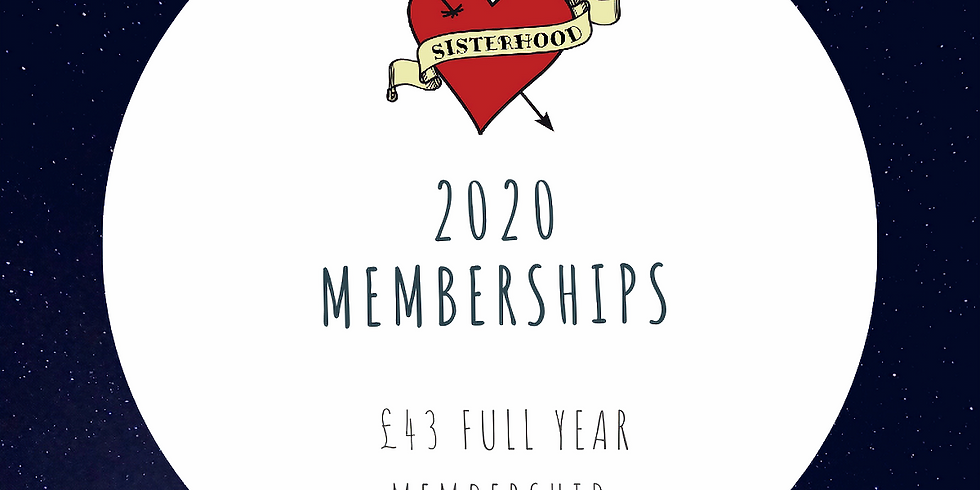 WI Membership 2020 (now runs until end of March 2021)