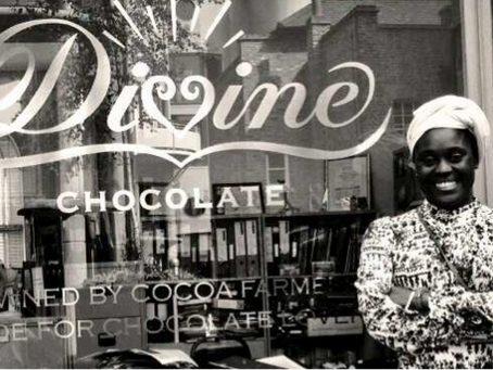 Monthly meeting: A super sweet meeting with Divine chocolate