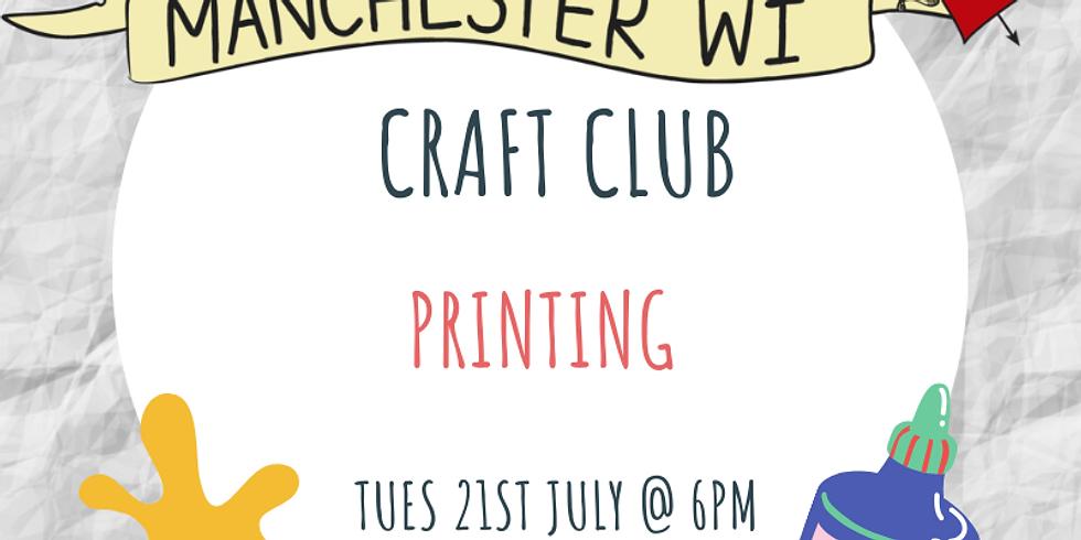 Craft Club - Printing