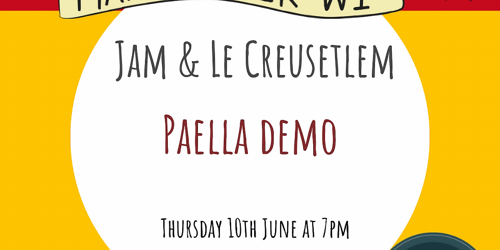 Paella Demo with Jade!
