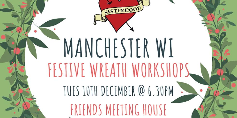 Festive Wreath Workshop (10th Dec)