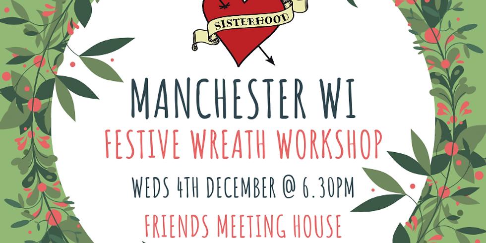 Festive Wreath Workshop (4th Dec)