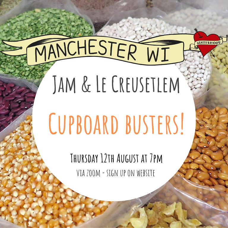 Jam and Le Creusetlem: Cupboard Busters