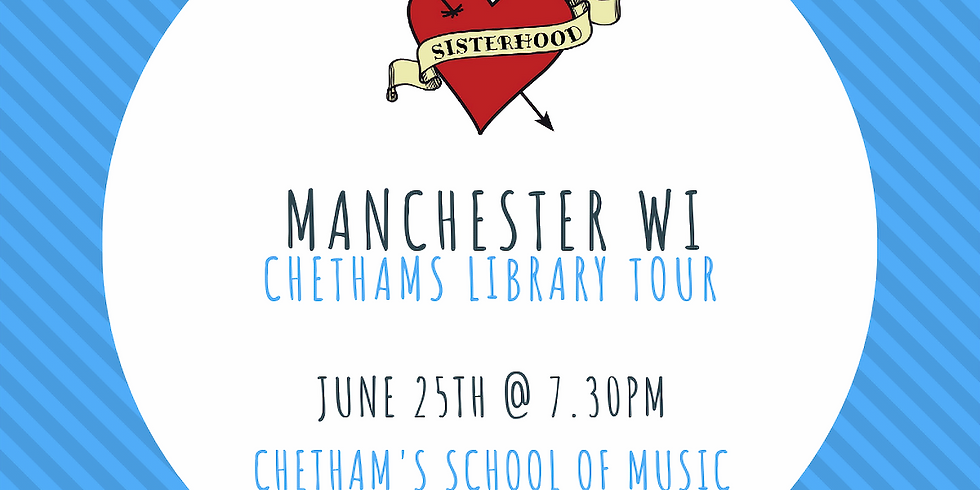 June Meeting: 7.30pm Chetham's Library Tour