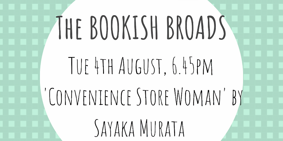 Bookish Broads - August meeting