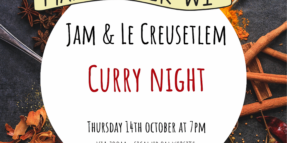Jam and Le Creusetlem: Curry Night