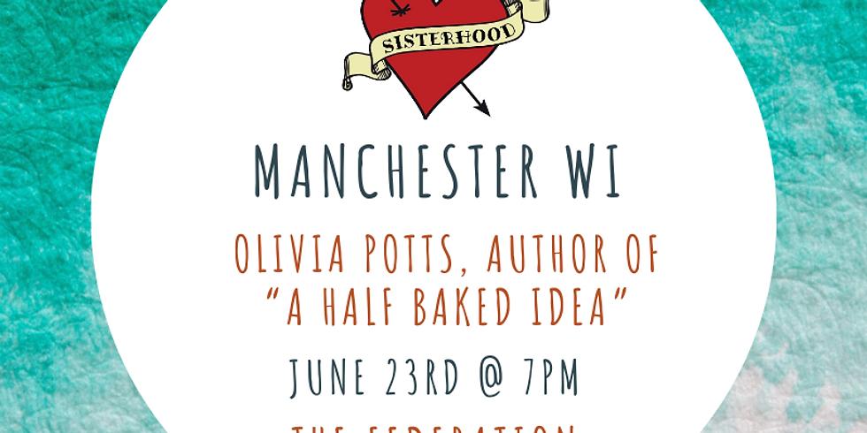 "June Meeting: Olivia Potts- Author ""A Half Baked Idea"""